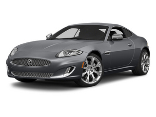 Lunar Gray Metallic 2014 Jaguar XK Pictures XK Coupe 2D V8 photos front view