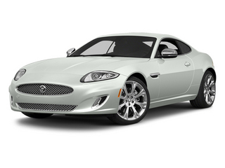 Polaris White 2014 Jaguar XK Pictures XK Coupe 2D V8 photos front view