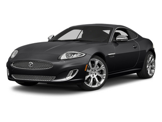Ultimate Black Metallic 2014 Jaguar XK Pictures XK Coupe 2D V8 photos front view