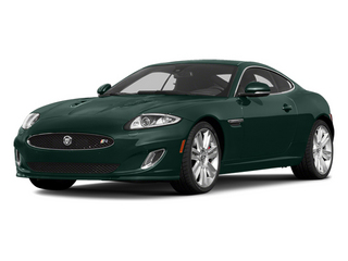 British Racing Green 2014 Jaguar XK Pictures XK Coupe 2D XKR V8 Supercharged photos front view