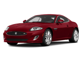 Italian Racing Red 2014 Jaguar XK Pictures XK Coupe 2D XKR V8 Supercharged photos front view