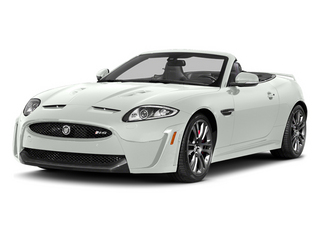 Polaris White 2014 Jaguar XK Pictures XK Convertible 2D XKR-S V8 Supercharged photos front view