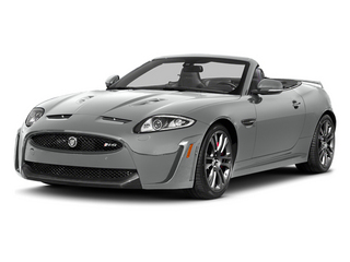 Rhodium Silver Metallic 2014 Jaguar XK Pictures XK Convertible 2D XKR-S V8 Supercharged photos front view