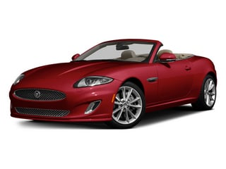 Carnelian Red Metallic 2014 Jaguar XK Pictures XK Convertible 2D Touring V8 photos front view