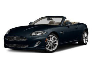Dark Sapphire Metallic 2014 Jaguar XK Pictures XK Convertible 2D Touring V8 photos front view