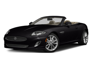 Ultimate Black Metallic 2014 Jaguar XK Pictures XK Convertible 2D Touring V8 photos front view