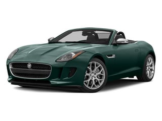 British Racing Green 2014 Jaguar F-TYPE Pictures F-TYPE Convertible 2D V6 photos front view