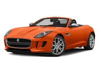 Firesand Metallic 2014 Jaguar F-TYPE Pictures F-TYPE Convertible 2D V6 photos front view
