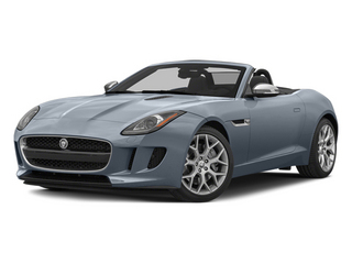 Satellite Gray Metallic 2014 Jaguar F-TYPE Pictures F-TYPE Convertible 2D V6 photos front view