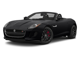 Ebony Black 2014 Jaguar F-TYPE Pictures F-TYPE Convertible 2D S V6 photos front view
