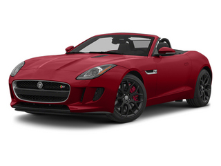 Italian Racing Red 2014 Jaguar F-TYPE Pictures F-TYPE Convertible 2D S V6 photos front view