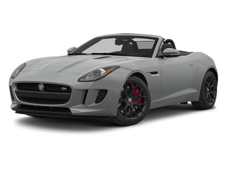 Rhodium Silver Metallic 2014 Jaguar F-TYPE Pictures F-TYPE Convertible 2D S V6 photos front view