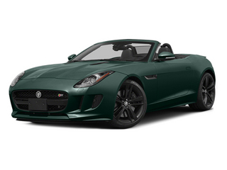 British Racing Green 2014 Jaguar F-TYPE Pictures F-TYPE Convertible 2D S V8 photos front view