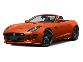 Firesand Metallic 2014 Jaguar F-TYPE Pictures F-TYPE Convertible 2D S V8 photos front view