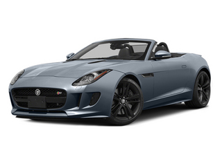 Satellite Gray Metallic 2014 Jaguar F-TYPE Pictures F-TYPE Convertible 2D S V8 photos front view
