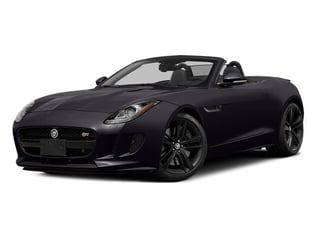 Ultimate Black Metallic 2014 Jaguar F-TYPE Pictures F-TYPE Convertible 2D S V8 photos front view