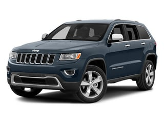 Pacific Blue Clearcoat 2014 Jeep Grand Cherokee Pictures Grand Cherokee Utility 4D Limited Diesel 2WD photos front view