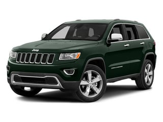 Black Forest Green Pearlcoat 2014 Jeep Grand Cherokee Pictures Grand Cherokee Utility 4D Limited Diesel 4WD photos front view