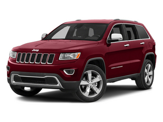 Deep Cherry Red Crystal Pearlcoat 2014 Jeep Grand Cherokee Pictures Grand Cherokee Utility 4D Limited Diesel 2WD photos front view
