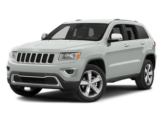 Bright White Clearcoat 2014 Jeep Grand Cherokee Pictures Grand Cherokee Utility 4D Limited Diesel 2WD photos front view