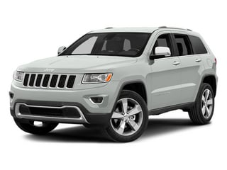 Bright White Clearcoat 2014 Jeep Grand Cherokee Pictures Grand Cherokee Utility 4D Limited Diesel 4WD photos front view