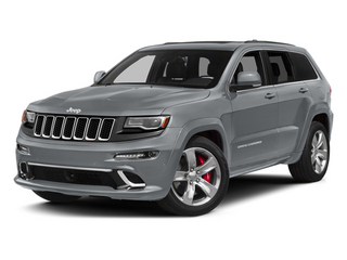 Billet Silver Metallic Clearcoat 2014 Jeep Grand Cherokee Pictures Grand Cherokee Utility 4D SRT-8 4WD photos front view