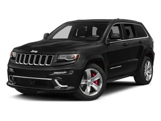 Brilliant Black Crystal Pearlcoat 2014 Jeep Grand Cherokee Pictures Grand Cherokee Utility 4D SRT-8 4WD photos front view