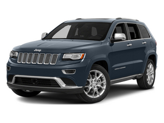 Pacific Blue Clearcoat 2014 Jeep Grand Cherokee Pictures Grand Cherokee Utility 4D Summit 4WD photos front view