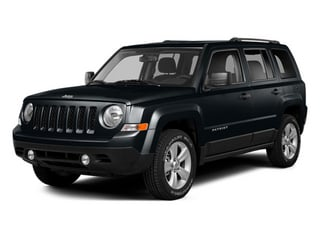 Maximum Steel Metallic Clearcoat 2014 Jeep Patriot Pictures Patriot Utility 4D Limited 2WD photos front view