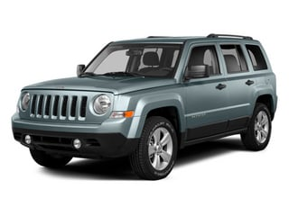 Winter Chill Pearlcoat 2014 Jeep Patriot Pictures Patriot Utility 4D Limited 2WD photos front view