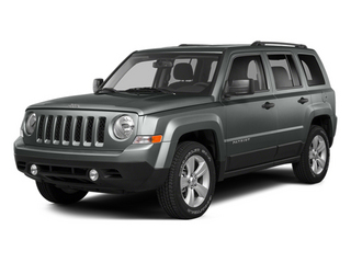 Mineral Gray Metallic Clearcoat 2014 Jeep Patriot Pictures Patriot Utility 4D Limited 2WD photos front view