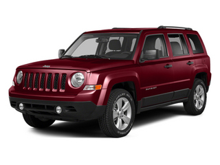 Deep Cherry Red Crystal Pearlcoat 2014 Jeep Patriot Pictures Patriot Utility 4D Limited 2WD photos front view