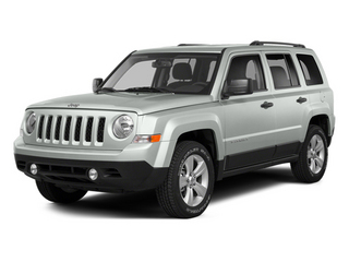 Bright White Clearcoat 2014 Jeep Patriot Pictures Patriot Utility 4D Limited 2WD photos front view