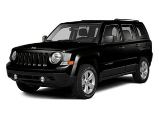 Black Clearcoat 2014 Jeep Patriot Pictures Patriot Utility 4D Limited 2WD photos front view