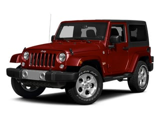 Flame Red Clearcoat 2014 Jeep Wrangler Pictures Wrangler Utility 2D Rubicon 4WD V6 photos front view