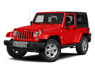 Firecracker Red Clear Coat 2014 Jeep Wrangler Pictures Wrangler Utility 2D Altitude 4WD V6 photos front view