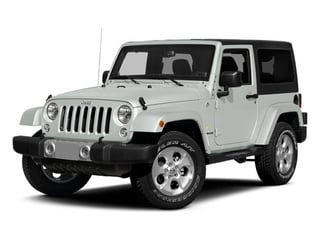 Bright White Clearcoat 2014 Jeep Wrangler Pictures Wrangler Utility 2D Altitude 4WD V6 photos front view