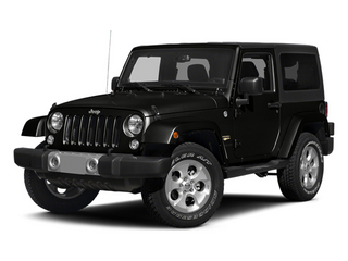 Black Clearcoat 2014 Jeep Wrangler Pictures Wrangler Utility 2D Altitude 4WD V6 photos front view