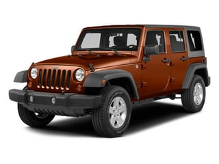 Copperhead Pearlcoat 2014 Jeep Wrangler Unlimited Pictures Wrangler Unlimited Utility 4D Unlimited Rubicon 4WD V6 photos front view