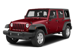Flame Red Clearcoat 2014 Jeep Wrangler Unlimited Pictures Wrangler Unlimited Utility 4D Unlimited Rubicon 4WD V6 photos front view