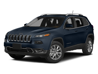 True Blue Pearlcoat 2014 Jeep Cherokee Pictures Cherokee Utility 4D Sport 4WD photos front view
