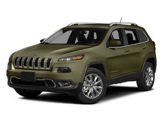 Eco Green Pearlcoat 2014 Jeep Cherokee Pictures Cherokee Utility 4D Latitude 4WD photos front view