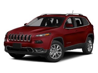 Deep Cherry Red Crystal Pearlcoat 2014 Jeep Cherokee Pictures Cherokee Utility 4D Latitude 4WD photos front view