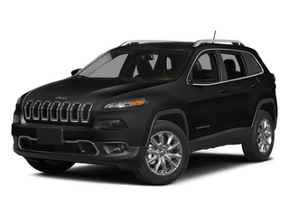 Brilliant Black Crystal Pearlcoat 2014 Jeep Cherokee Pictures Cherokee Utility 4D Latitude 4WD photos front view