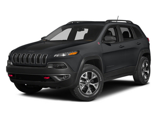 Granite Crystal Metallic Clearcoat 2014 Jeep Cherokee Pictures Cherokee Utility 4D Trailhawk 4WD photos front view