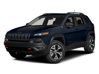 True Blue Pearlcoat 2014 Jeep Cherokee Pictures Cherokee Utility 4D Trailhawk 4WD photos front view
