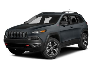 Anvil Clear Coat 2014 Jeep Cherokee Pictures Cherokee Utility 4D Trailhawk 4WD photos front view