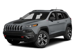 Billet Silver Metallic Clearcoat 2014 Jeep Cherokee Pictures Cherokee Utility 4D Trailhawk 4WD photos front view