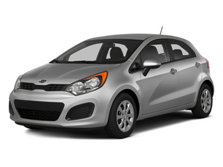 Bright Silver 2014 Kia Rio Pictures Rio Hatchback 5D SX I4 photos front view