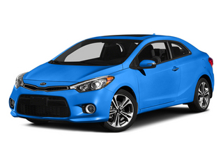 Abyss Blue 2014 Kia Forte Koup Pictures Forte Koup Coupe 2D EX I4 photos front view